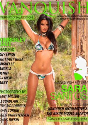 Vanquish Magazine – September 2014 – Sara Santos