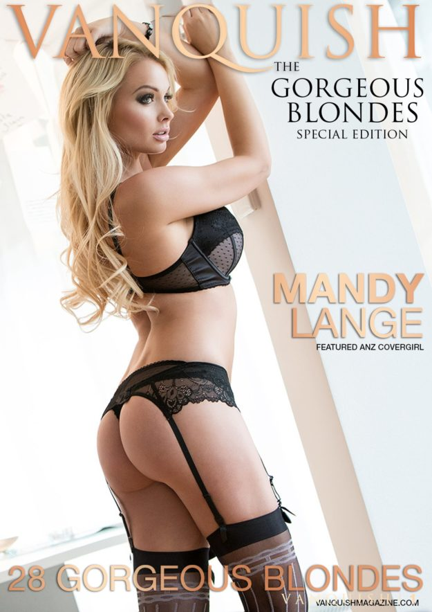 Vanquish Magazine – Gorgeous Blondes – Mandy Lange