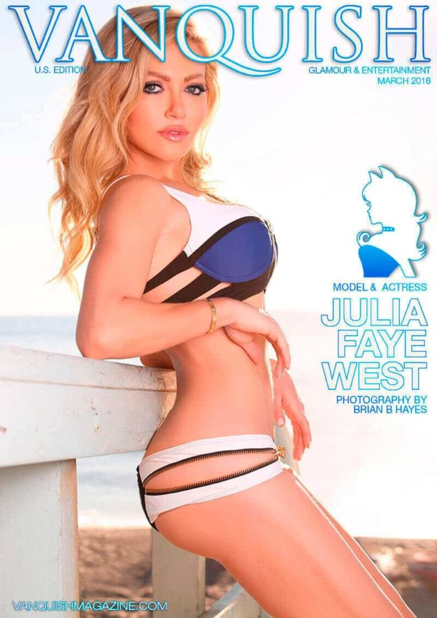 Vanquish Magazine US – March 2016 – Julia Faye West