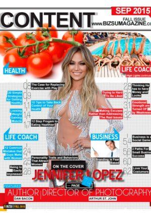 BIZSU Magazine - Fall 2015 - Jennifer Lopez 1