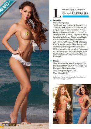 BIZSU Magazine - Fall 2015 - Jennifer Lopez 4
