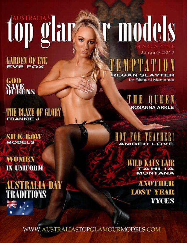 Australia's Top Glamour Models Mag January 2017