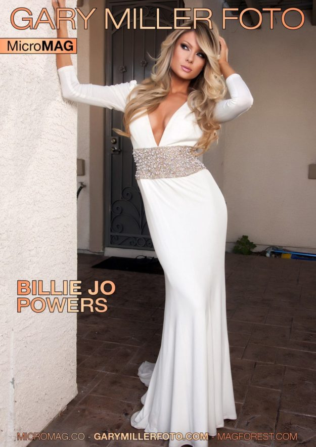 Gary Miller Foto MicroMag – Billie Jo Powers