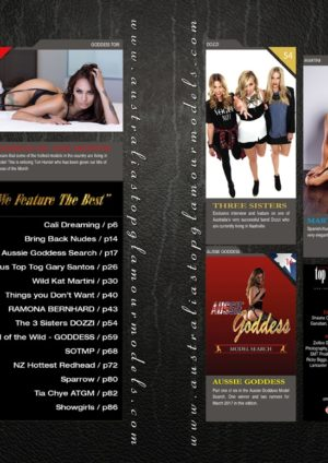 Australia's Top Glamour Models March 2017 International Edition 1