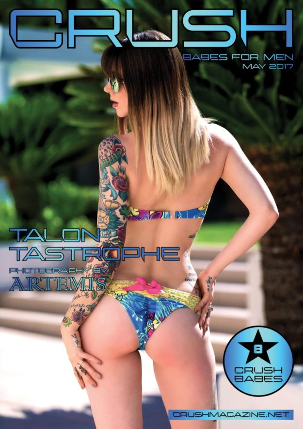 Crush Magazine – May 2017 – Talon Tastrophe