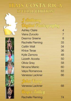 Vanquish Magazine - IBMS Costa Rica - Part 3 - Deanna Greene 1