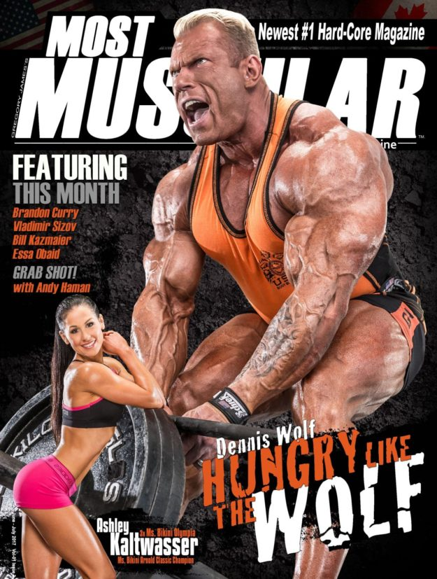 Most Muscular Magazine – June – July 2017
