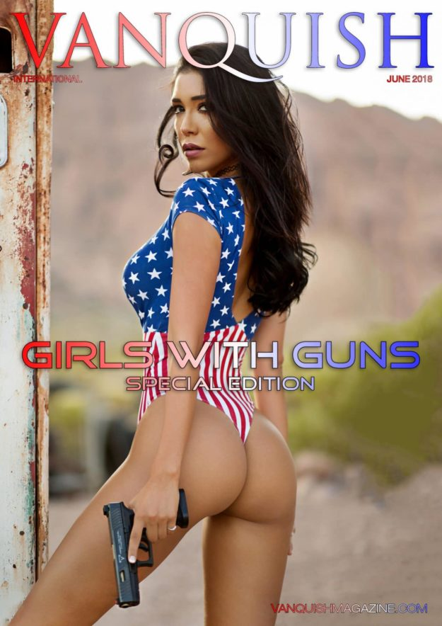 Vanquish Magazine – Girls with Guns – Lizzeth Acosta
