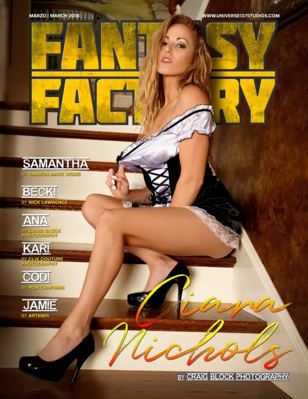 Fantasy Factory Magazine – March 2018