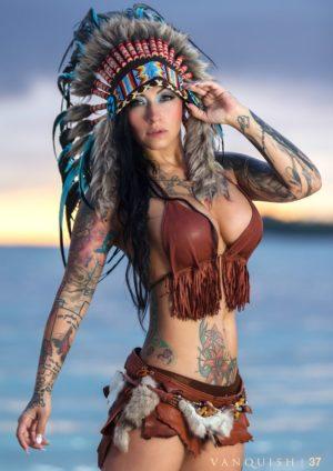 Vanquish Tattoo Magazine - March 2016 - Violet Stone 4