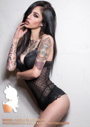 Vanquish Tattoo Magazine - March 2016 - Violet Stone 5