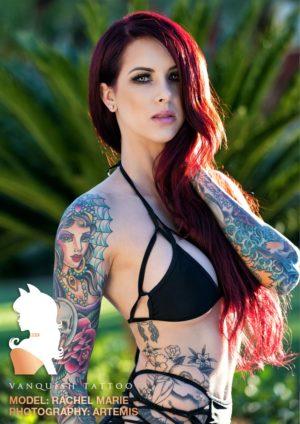 Vanquish Tattoo Magazine – September 2016 – Ashlyn Cook