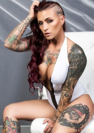 Vanquish Tattoo Magazine - March 2017 - Venus Starr 5