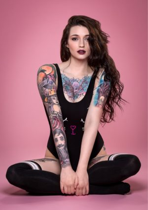 Vanquish Tattoo Magazine – July 2017 – Kinga & Malina