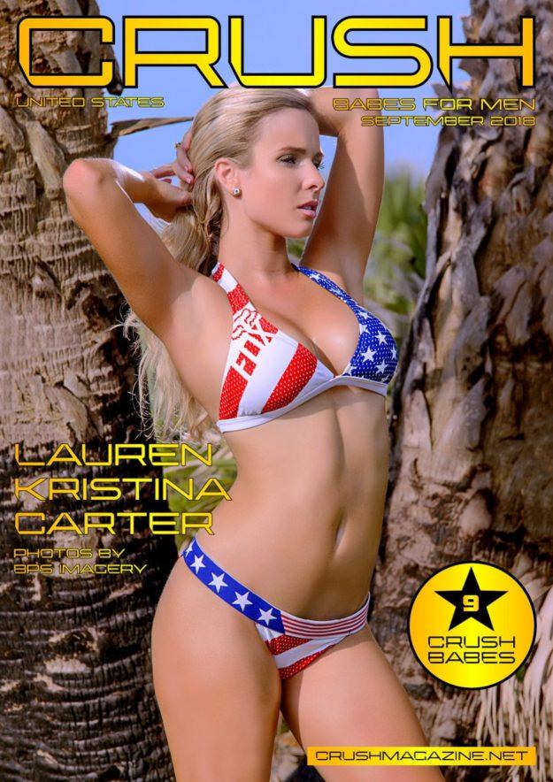 Crush Magazine – September 2018 – Lauren Kristina Carter