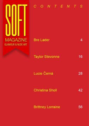 Soft Magazine - November 2018 - Lucie Černá 1