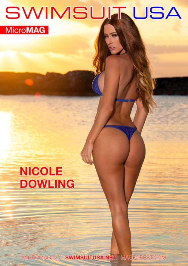 Swimsuit USA MicroMAG – Nicole Dowling