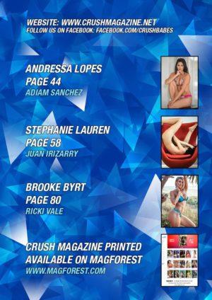 Crush Magazine - December 2018 - Stephanie Lauren 2