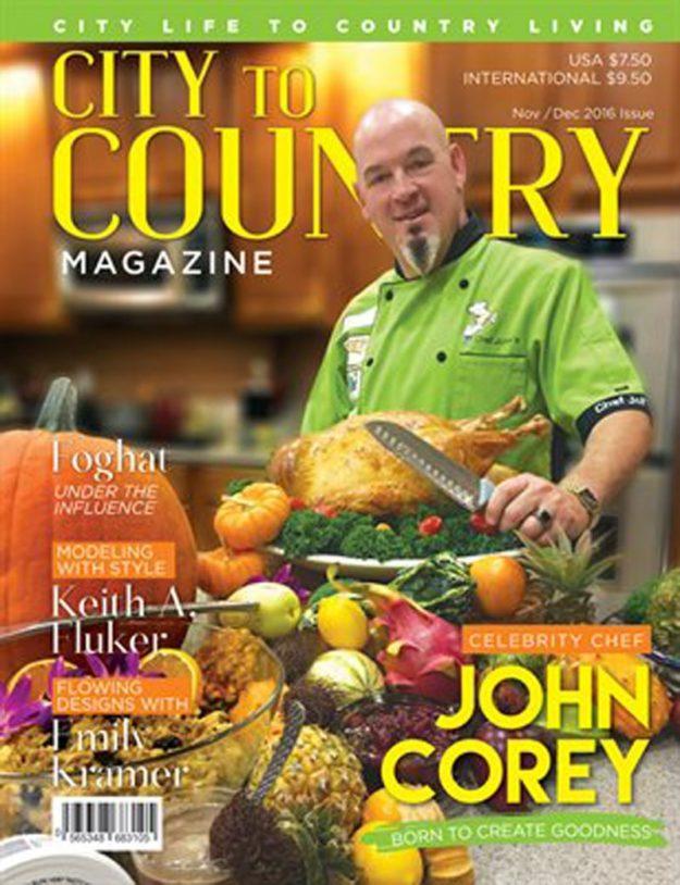 City To Country Magazine – Nov/Dec 2016