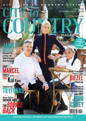 City To Country Magazine – Jan/feb 2017