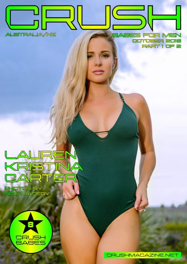 Crush Magazine – October 2018 – Part 1 – Lauren Kristina Carter