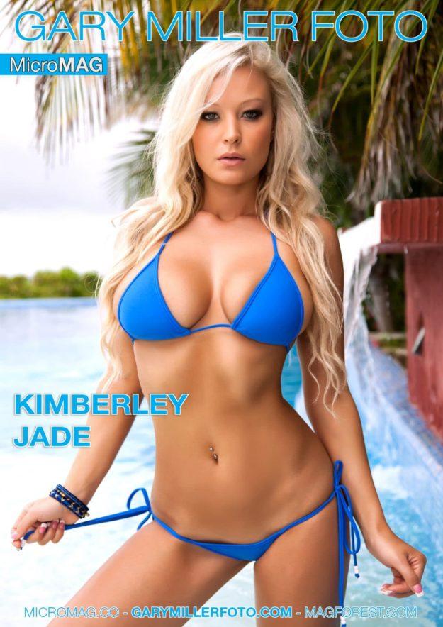 Gary Miler Foto MicroMAG – Kimberley Jade – Blue Bikini