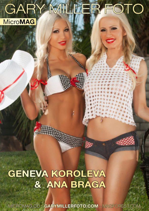 Gary Miller Foto Micromag – Geneva Koroleva & Ana Braga