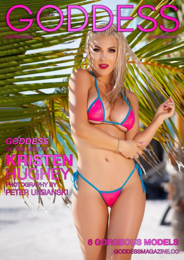 Goddess Magazine – December 2018 – Kristen Hughey