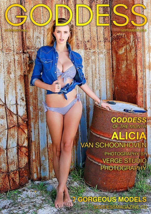Goddess Magazine – September 2018 – Alicia Van Schoonhoven