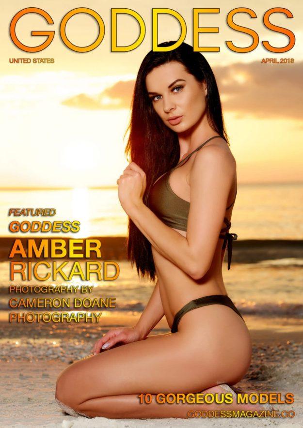 Goddess Magazine – April 2018 – Amber Rickard