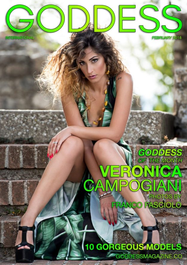 Goddess Magazine – February 2018 – Veronica Campogiani