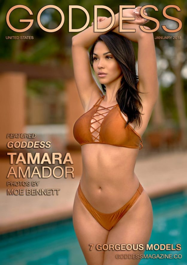 Goddess Magazine – January 2018 – Tamara Amador