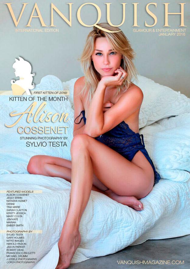 January 2016 Alison Cossenet