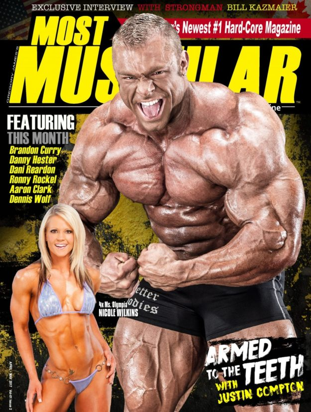 Most Muscular Magazine – April – May 2017