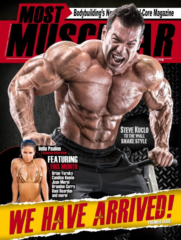 Most Muscular Magazine – Premier Issue 2017