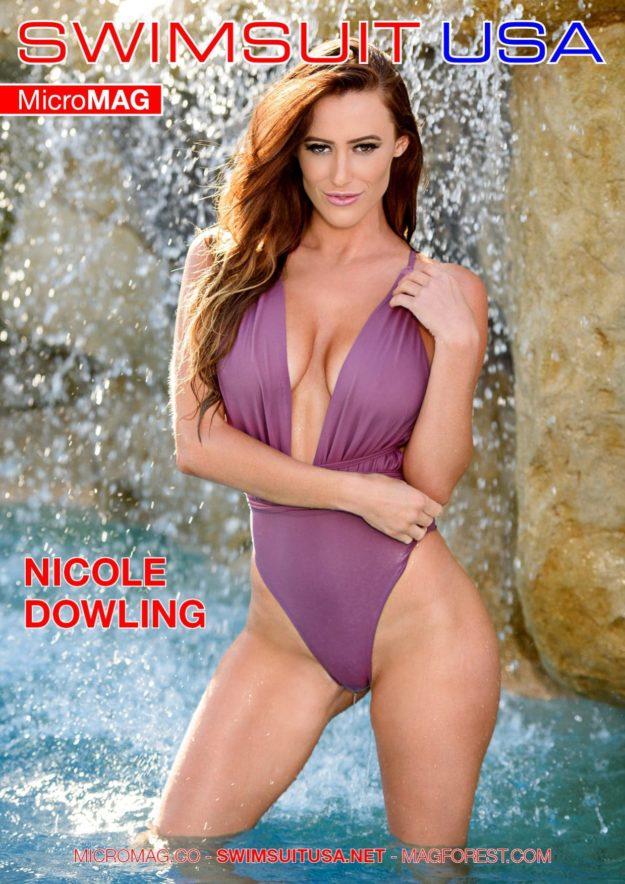 Swimsuit Usa Micromag – Nicole Dowling