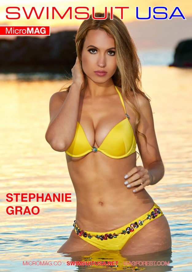 Swimsuit Usa Micromag – Stephanie Grao
