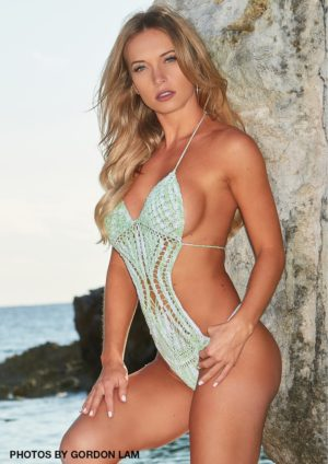 Swimsuit Usa Micromag – Sara Long