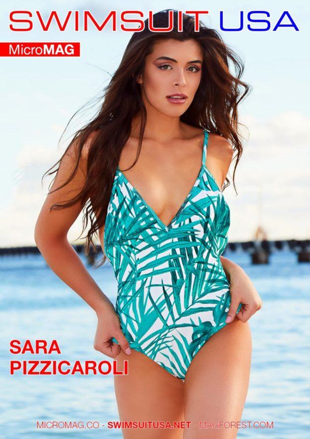 Swimsuit Usa Micromag – Sara Pizzicaroli