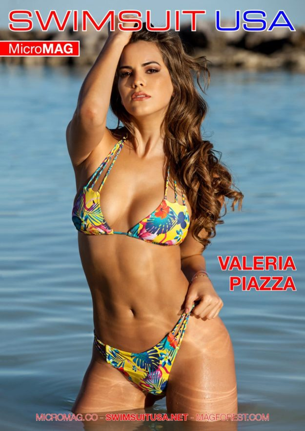 Swimsuit Usa Micromag – Valeria Piazza