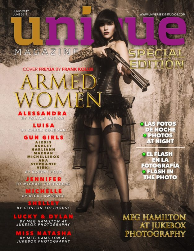 Unique Magazine – Special Edition – Armed Women