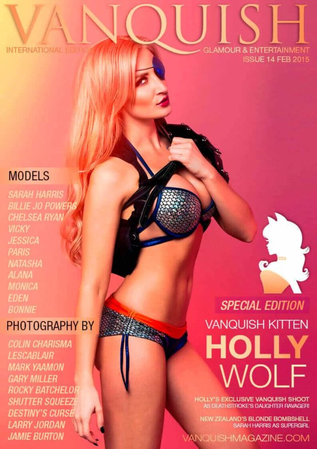 Vanquish Magazine – February 2015 – Holly Wolf