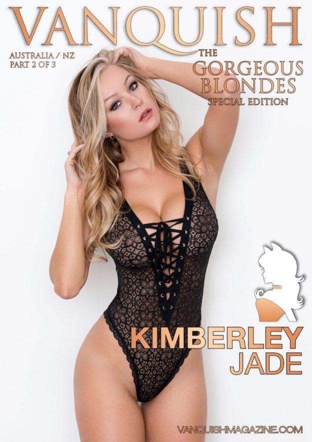 Vanquish Magazine – Gorgeous Blondes – Kimberley Jade