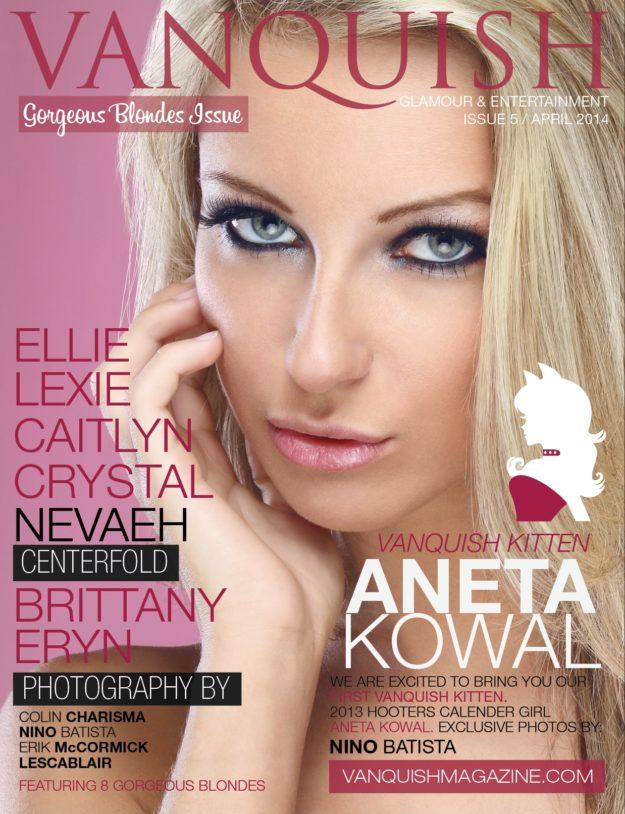 Vanquish Magazine – April 2014 – Aneta Kowel