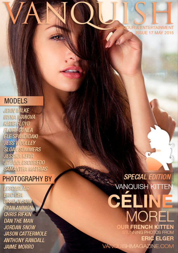 vanquish magazine may – céline morel