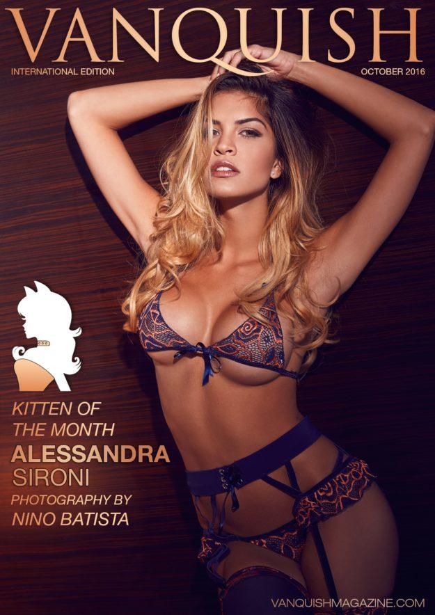 Vanquish Magazine – October 2016 – Alessandra Sironi