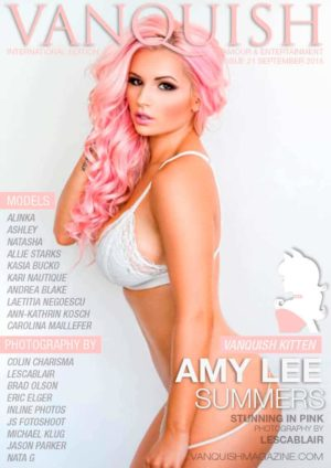 Vanquish Magazine – September 2015 – Amy Lee Summers