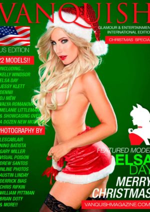 Vanquish Magazine Us – Christmas 2014 – Elsa Day