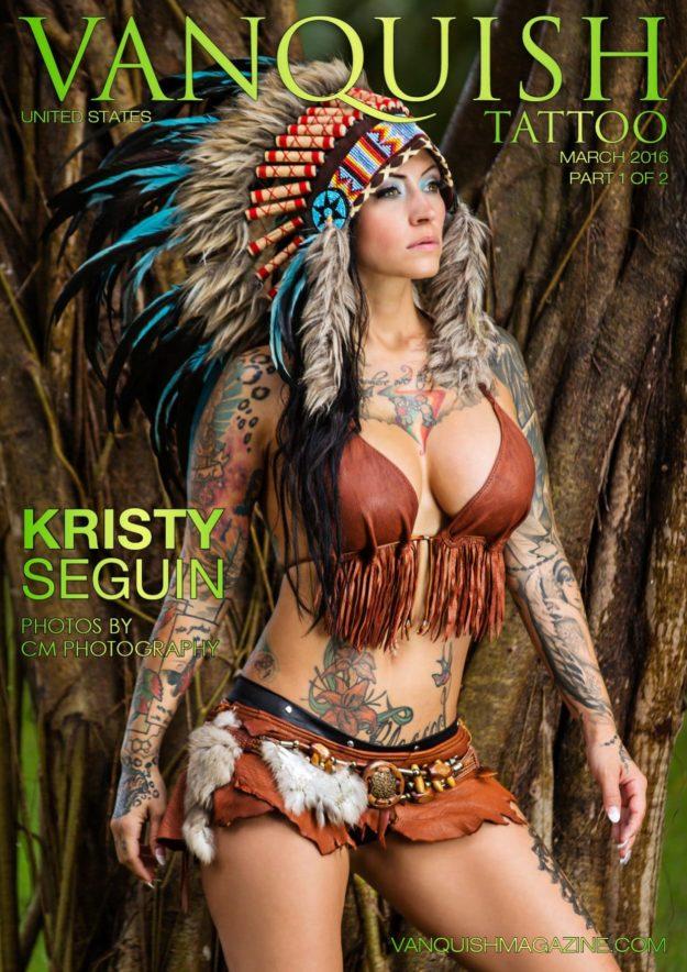Vanquish Tattoo Magazine – March 2016 – Kristy Seguin