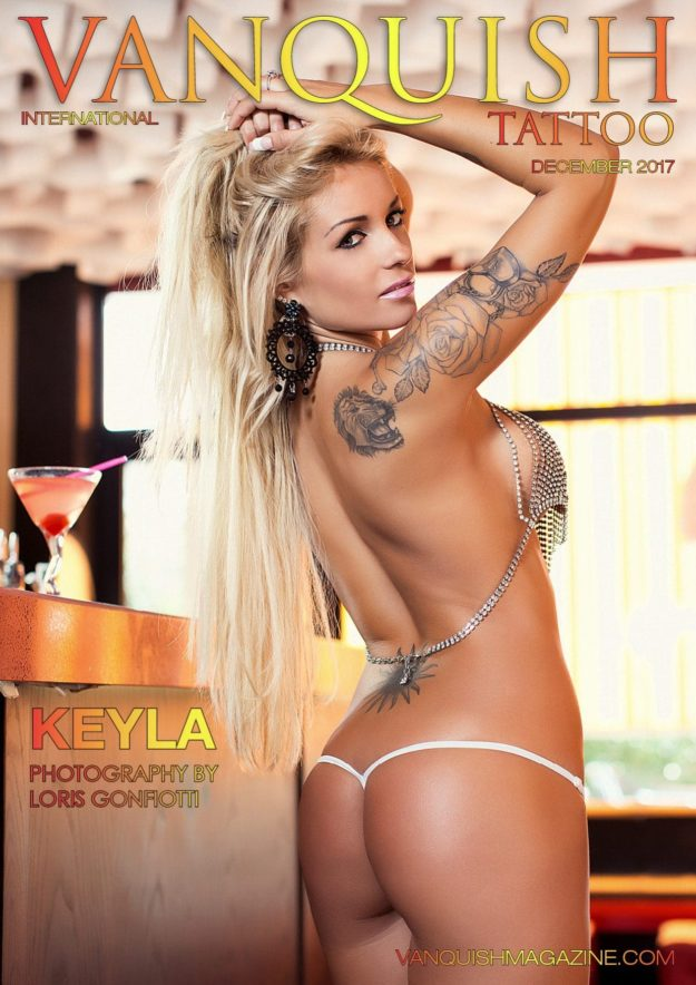 Vanquish Tattoo Magazine – December 2017 – Keyla